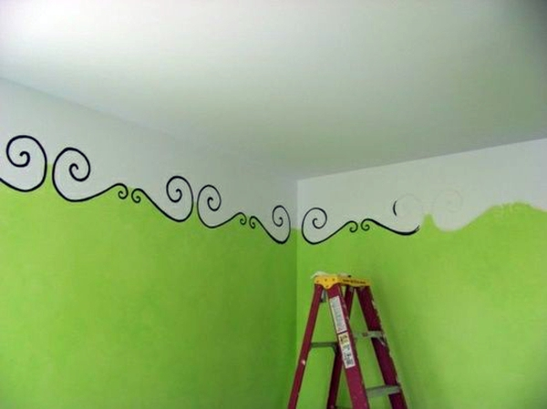 The Ceiling Falls Wall Painting Kids   Great Interior Ideas