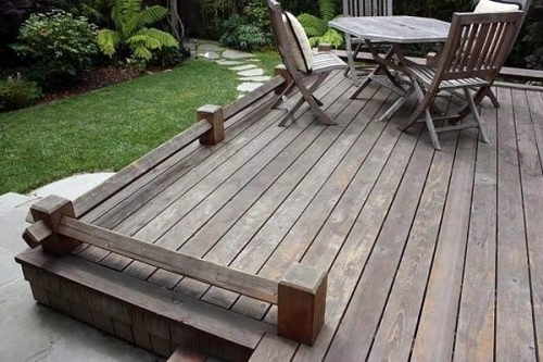 ... 17 Tips For Wood Flooring In The Garden Or On The Terrace