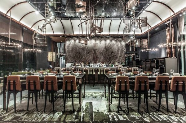 67 images for 20 of the best bar and restaurant design realizations