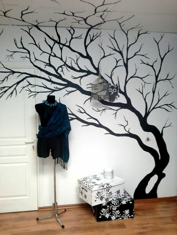 Painting Walls Interior Design Ideas For Amazing Wall