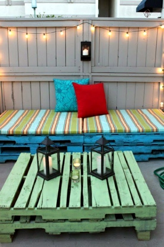 Garden furniture from pallets  trendy tinker Outdoor Furniture
