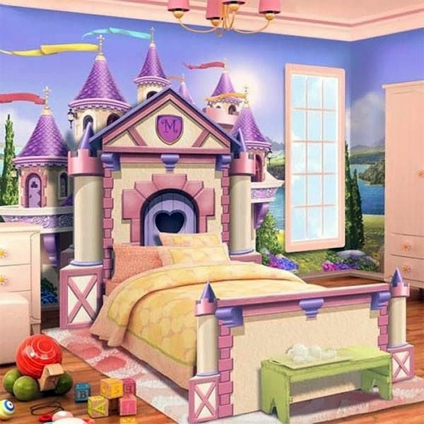Castle Behind The Bed 125 Great Ideas For Childrenu0027s Room Design