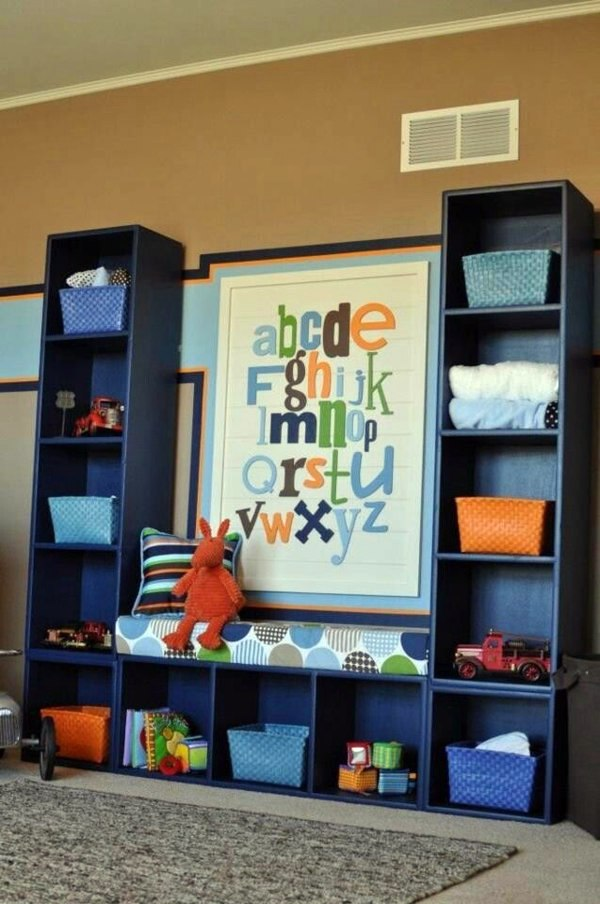 Integrate Practical Shelving System 125 Great Ideas For Childrenu0027s Room  Design
