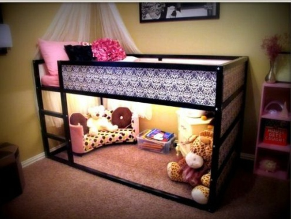 Clearance under the bed 125 great ideas for children's room design