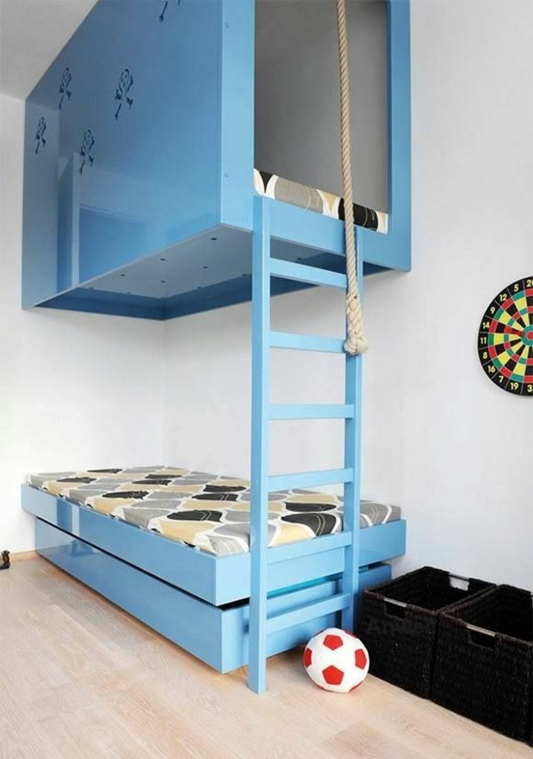 The Highest Bed 125 Great Ideas For Childrenu0027s Room Design