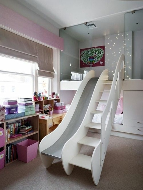 Merveilleux Slide Out Of Bed 125 Great Ideas For Childrenu0027s Room Design