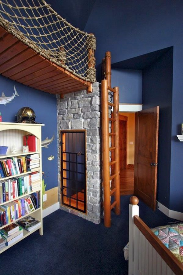 Brick Wall With Decorative Door 125 Great Ideas For Childrenu0027s Room Design