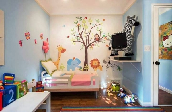 Zebra   TV 125 Great Ideas For Childrenu0027s Room Design Part 64