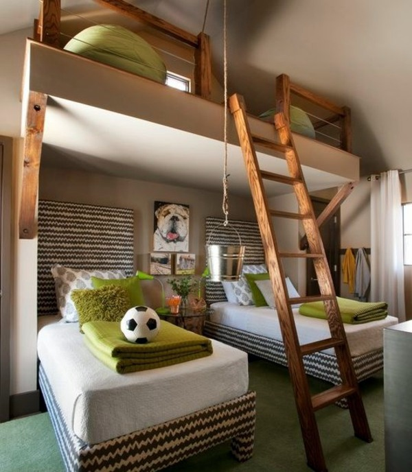 Three Beds Design 125 Great Ideas For Childrenu0027s Room Design