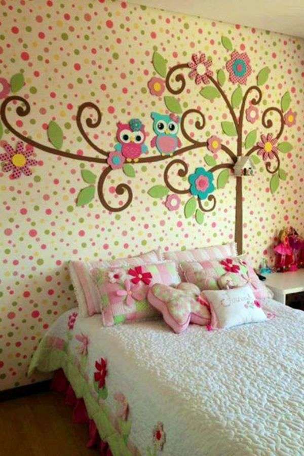 Owls on the wall 125 great ideas for childrens room design