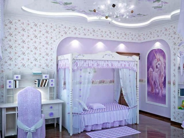 Setting The Room Stylish Girl 125 Great Ideas For Childrenu0027s Room Design