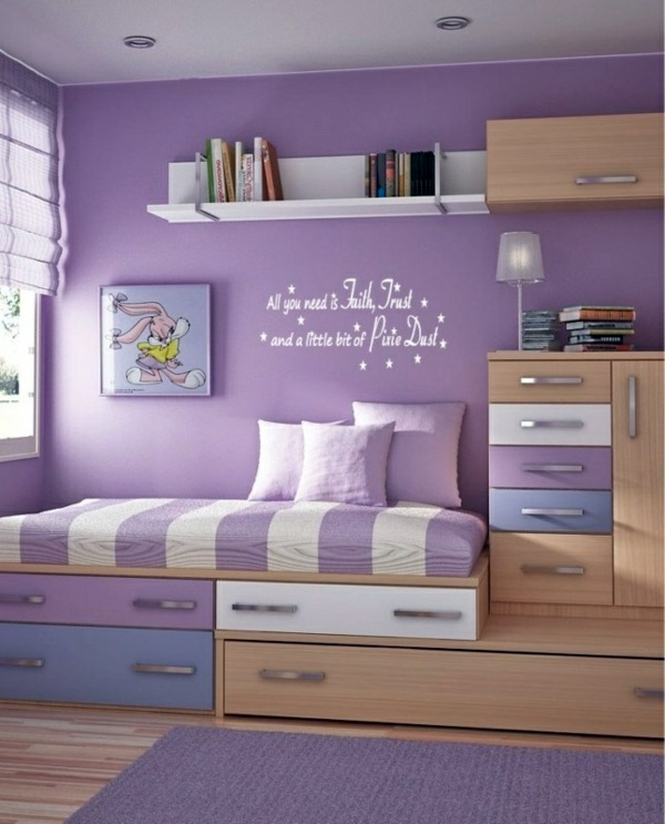 Interior Design For Rooms Ideas Part - 23: ... 125 Great Ideas For Childrenu0027s Room Design