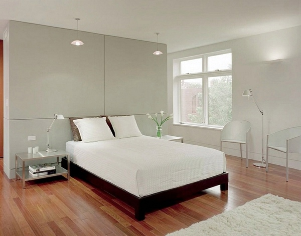 The Pale Neutral Colors The Bedroom Set Minimalist 50 Bedroom Ideas
