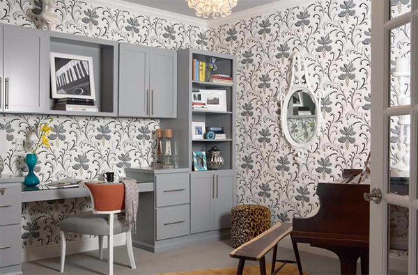 Wall Murals Pattern 20 Inspiring Wall Design Ideas For Home Office