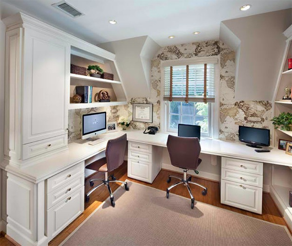 20 Inspiring Home Office Design Ideas For Small Spaces: 20 Inspiring Wall Design Ideas For