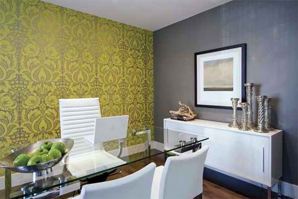 Wall Murals Pattern 20 inspiring wall design ideas for home