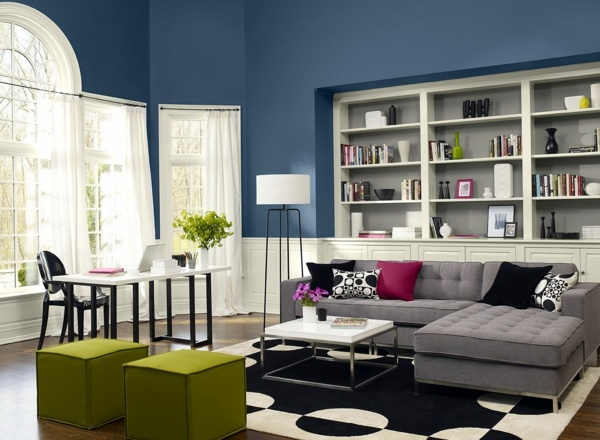 Color ideas for living room – lively atmosphere in every home ...
