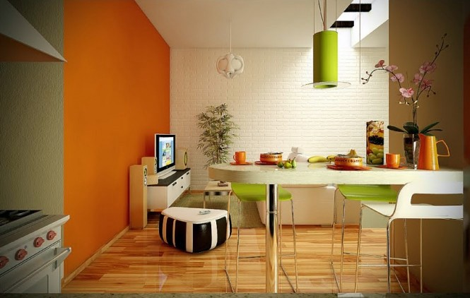 Cool And Exciting Dining Room Designs In White