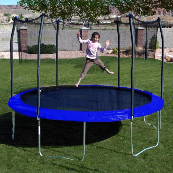 summer fun with garden trampoline what says stiftung warentest about interior design ideas. Black Bedroom Furniture Sets. Home Design Ideas