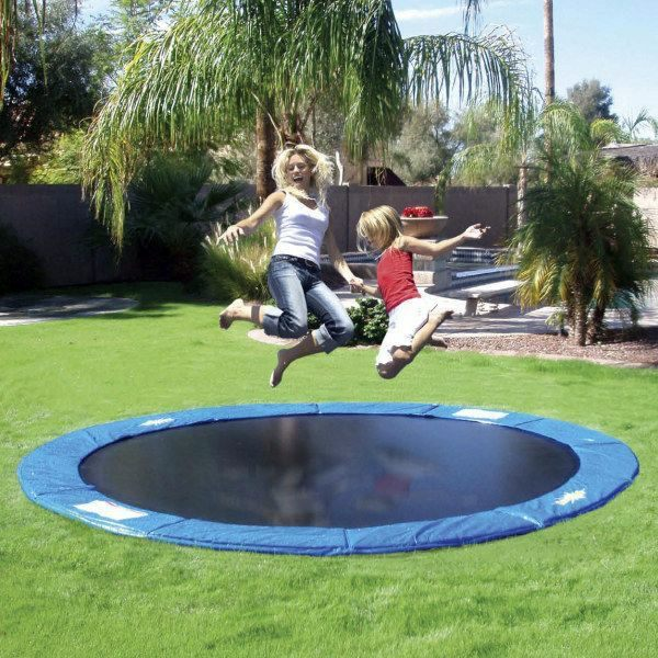 summer fun with garden trampoline what says stiftung warentest about interior design ideas