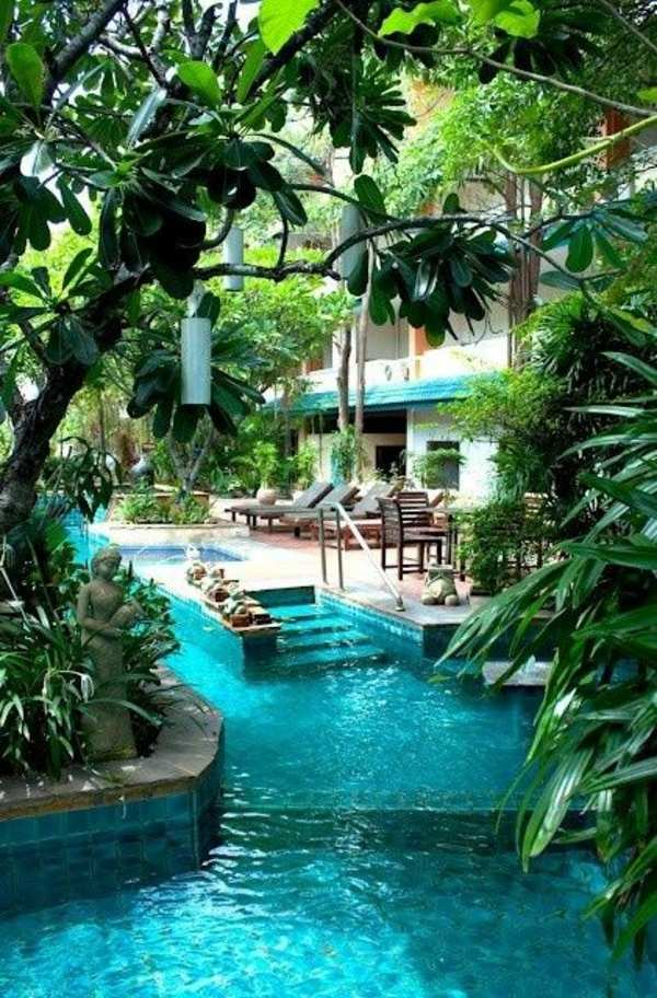 16 useful tips for pool design in the garden Interior Design