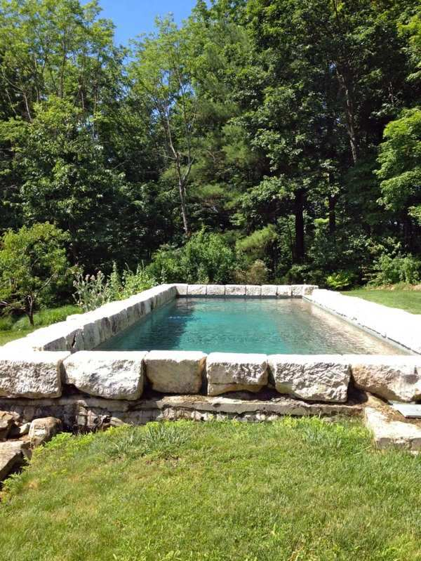 16 useful tips for pool design in the garden