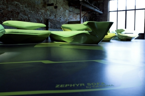 Attractive Beautiful Designer Sofa By Zaha Hadid For Cassina