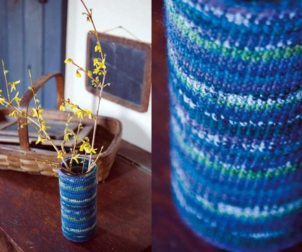 Knitted And Crocheted Decoration For DIY Interior Design