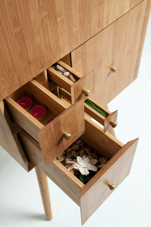 Compact, Square Drawers Sewing Box Cabinet Design VonKiki Van Eijk    Original And Remarkable