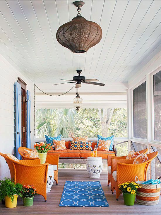 Terrace design ideas 16 creative designs for the porch Creative interior ideas
