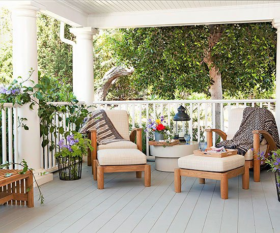 Gartenmöbel Set - Terrace design ideas - 16 creative designs for the porch