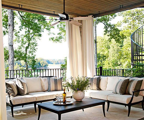 Protect The Perspective Terrace Design Ideas   16 Creative Designs For The  Porch