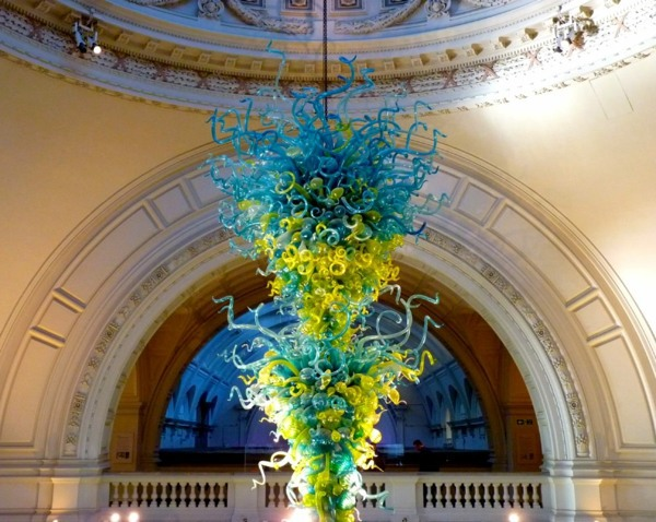 Fantastic Decoration Of Glass Chihuly Glass Sculpture