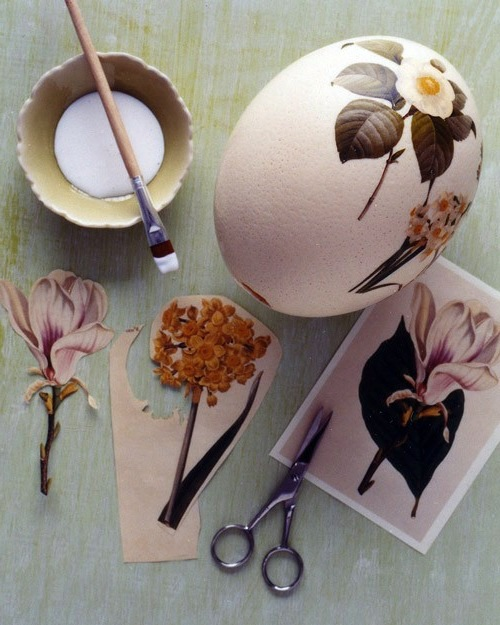 Make easter eggs with decoupage 1 941