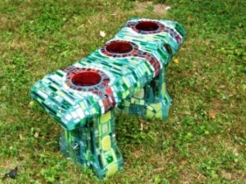 13 beautiful designs for your mosaic in the garden | Interior Design ...