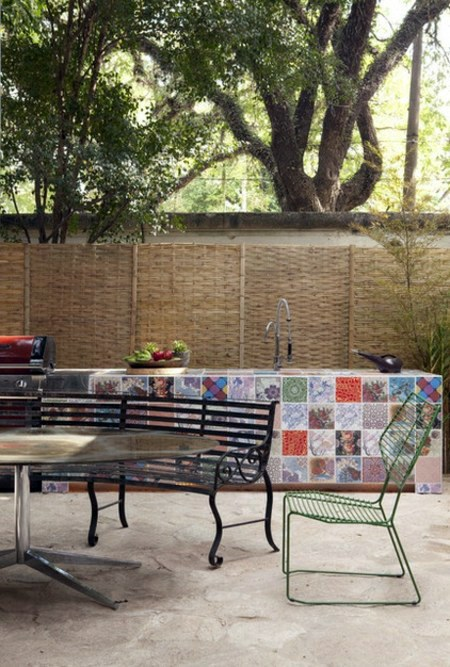 Patchwork Tile Designs - Decorate and beautify your home!