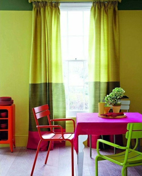 Esszimmer   27 Bright And Colorful Dining Room Design Ideas
