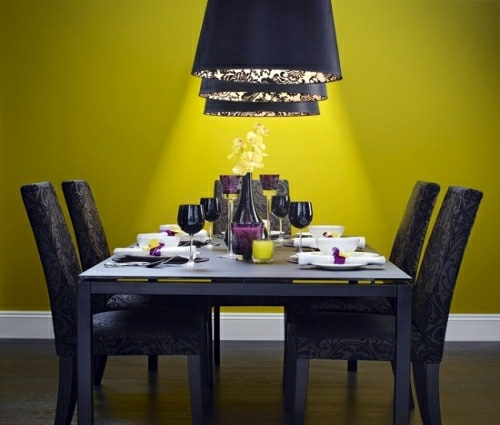 27 bright and colorful dining room design ideas interior for Bright dining room ideas