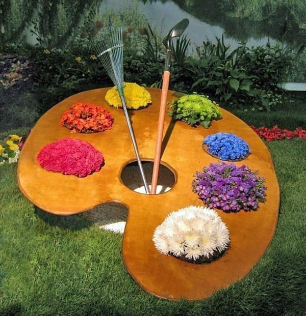 Gardening ideas and beautiful garden decorations