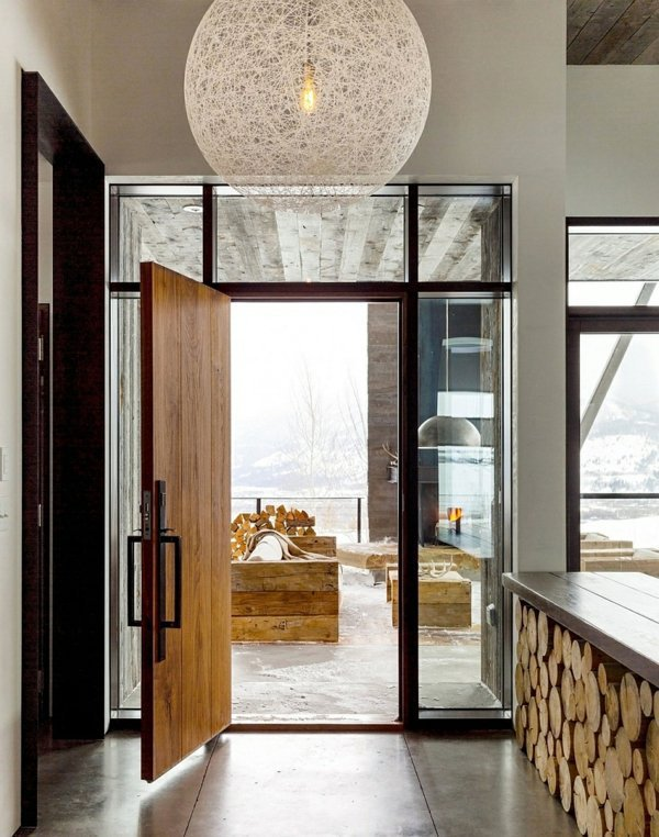 Gorgeous mountain cabin in a modern, contemporary style | Interior ...