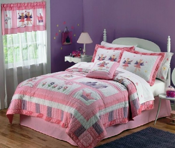 Convey Your Little Girl S Personality Through Her Bedroom: 20 Whimsical Ideas For Kids Bed Linen Trends In Girls