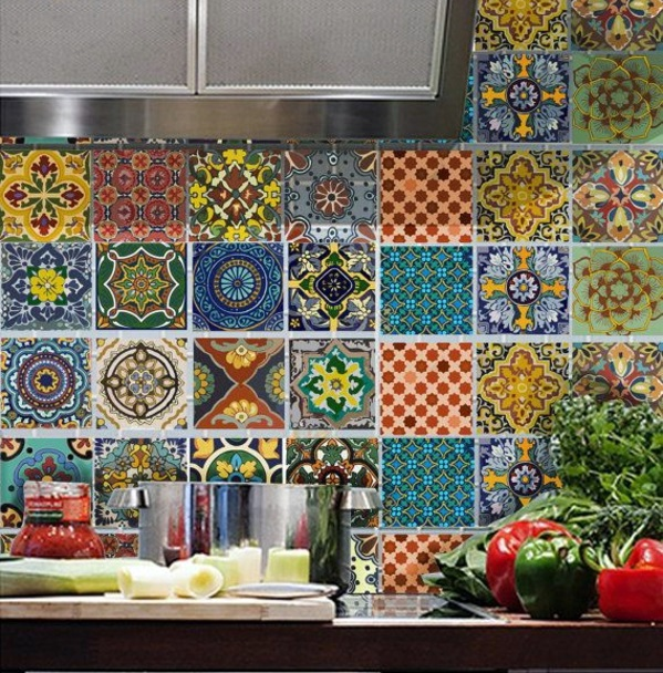 kitchen wall tiles the rear wall plays an important role. Black Bedroom Furniture Sets. Home Design Ideas