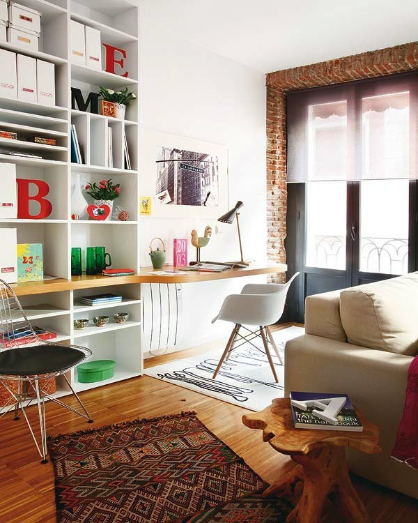 Bulky Interior Design Ideas Setting Up Small Apartment   Use The Room  Height And Save Space