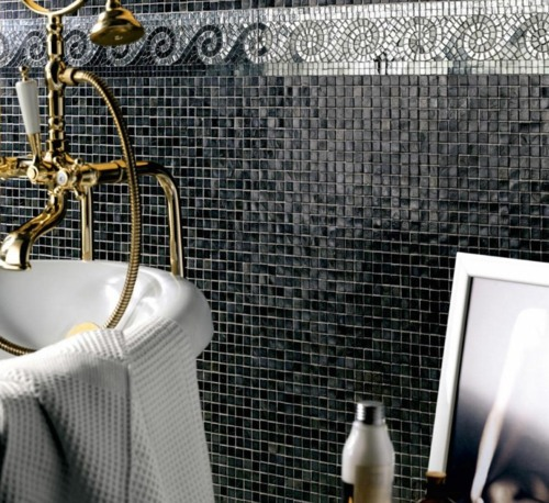 Designer Bathroom Tiles Shine And Style In The Bathroom