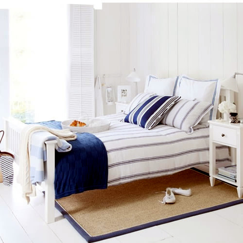 Bedroom Blues Meaning: Summer Bedroom Decorating