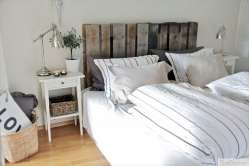 design diy headboard euro pallets - Do It Yourself Kopfteil Designs