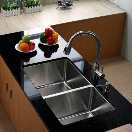 How Should One Choose The Material Of The Sink In The Kitchen Interior Design Ideas Avso Org