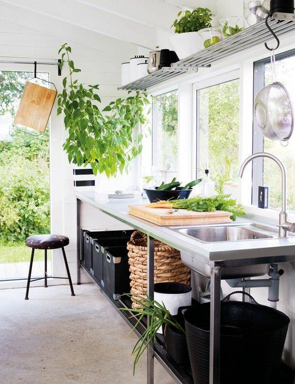 Outdoor Kitchen Furniture Garden Design your kitchen with style