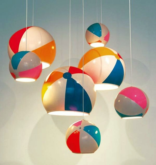 Innenarchitektur - Designer lamps appear as a great decoration in the room