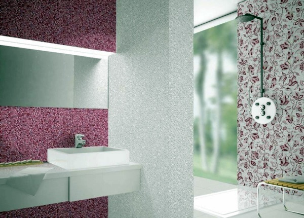 Badezimmer   Tiles In The Bathroom Design   Cool Bathroom Pictures